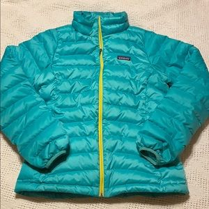 Patagonia young girl puffer jacket